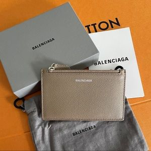 BALENCIAGA Cash Zip Card Holder